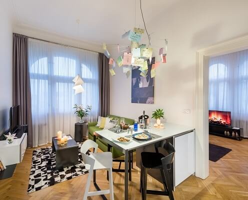 MOOo Downtown | Luxurious apartments in the center of Prague - Penthouse