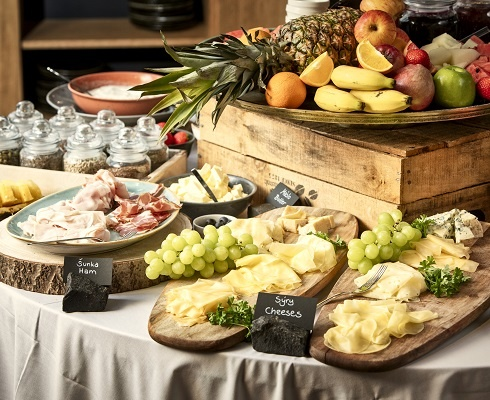 Breakfast- MOOo Downtown | Luxurious apartments in the center of Prague