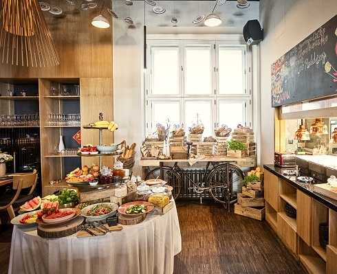 Breakfast - MOOo Downtown   Luxurious apartments in the center of Prague