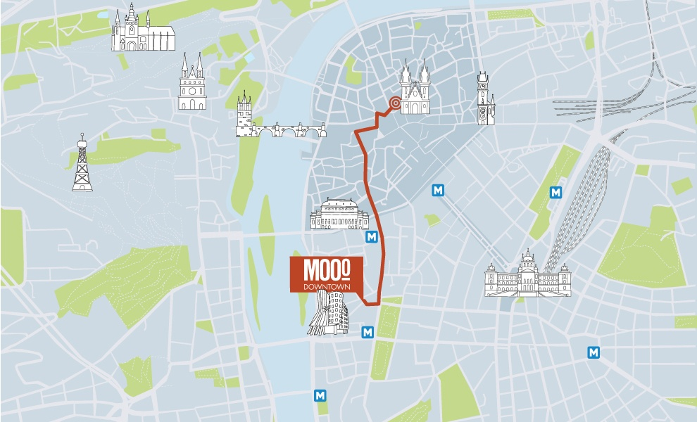 MOOo Downtown | Luxurious apartments in the center of Prague - Old town