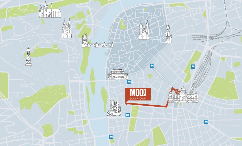 MOOo Downtown | Luxurious apartments in the center of Prague - Wenceslas square